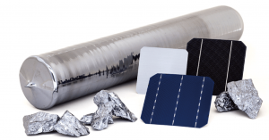 Monocrystalline solar cells production