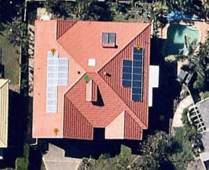 Solar panels east/west