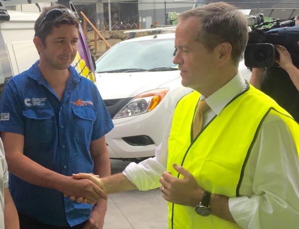 Talking Solar with Mr Bill Shorten