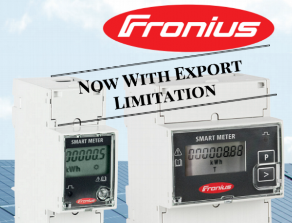 Fronius Smart Meter now supports Export Limitation