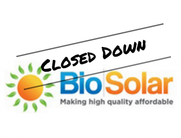 BioSolar Closed for Business – Who do I Contact for Warranty?