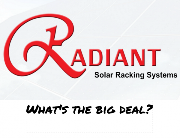 Solar Rail. Why we Choose to Pay for Radiant. Part 1 – Tile Roofs