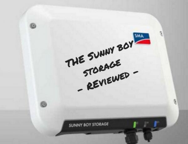 Sunny Boy Storage Review