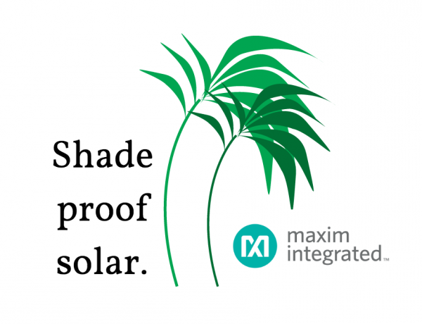 Maxim optimisers – the closest thing to shade proof solar.