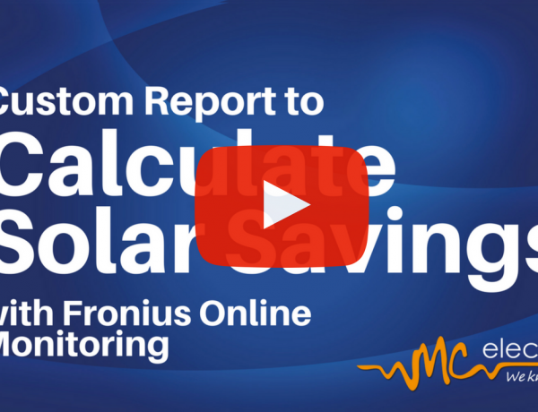 How to generate a custom report in Fronius Solarweb