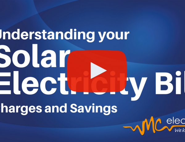 How to read your Solar Electricity Bill