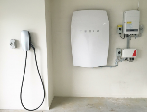 Tesla Powerwall Charging station
