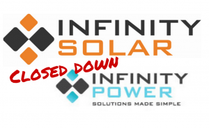 Infinity Solar Power Closed Down