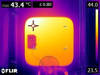 Huawei Solar inverter thermal image