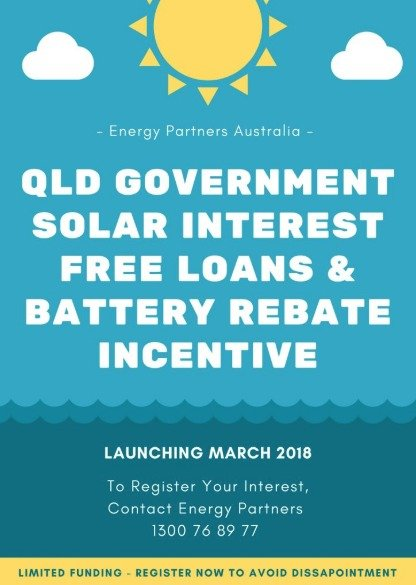 QLD Government Solar Battery Rebate Incentive