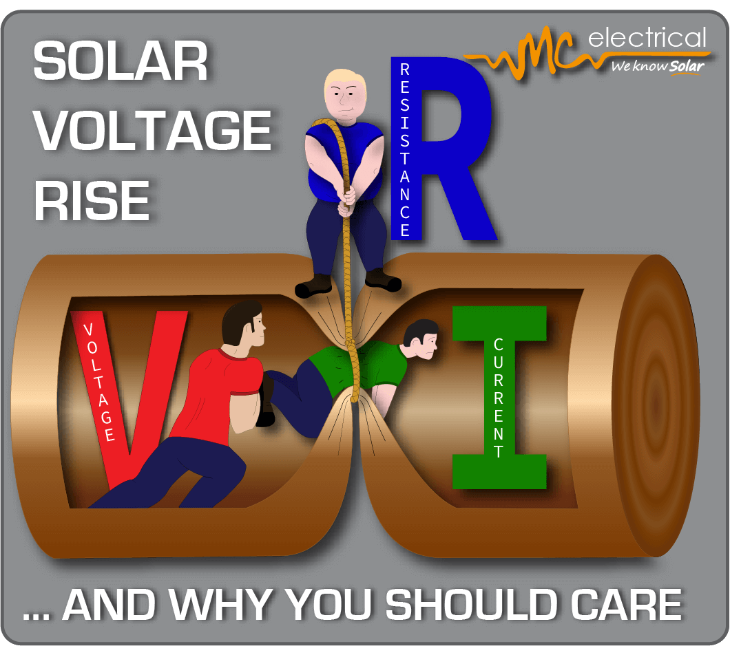 Solar Voltage Rise - why you should care - MC Electrical